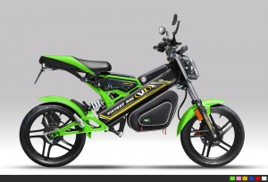 KXE-10 Electric Folding Bike
