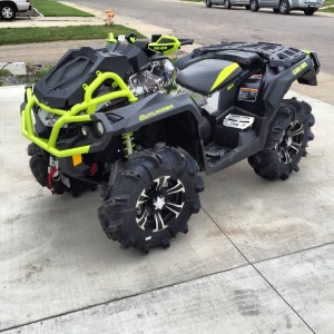 2015 BRP Can-Am Outlander 1000 XMR Digital Camo